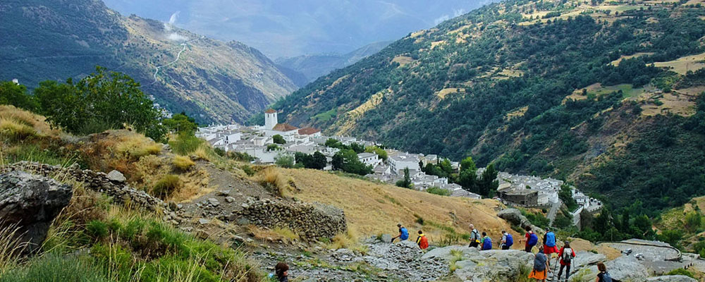 Capileira - wandelroutes Andalusie