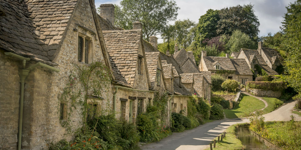 Bibury Arlington Row